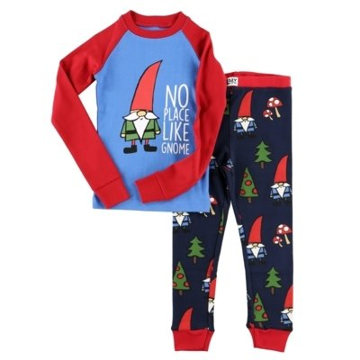 No Place Like Gnome Kids - PJ Set