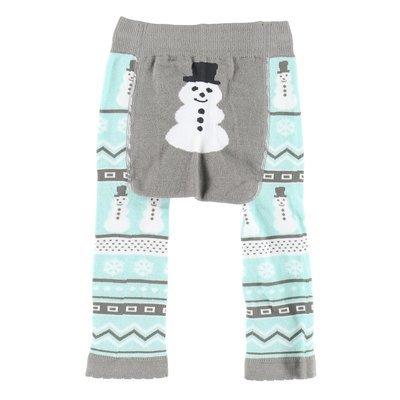 Nordic Snowman Baby Leggings