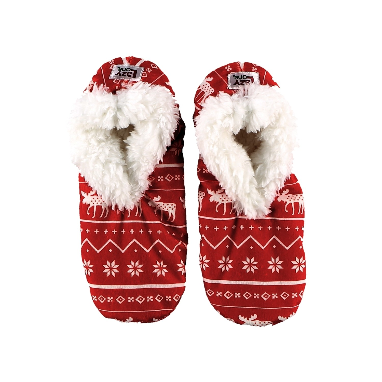 Nordic Moose Fuzzy Feet