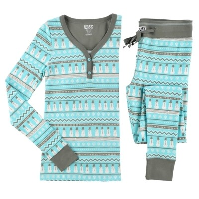 Nordic Snowman Thermal Set