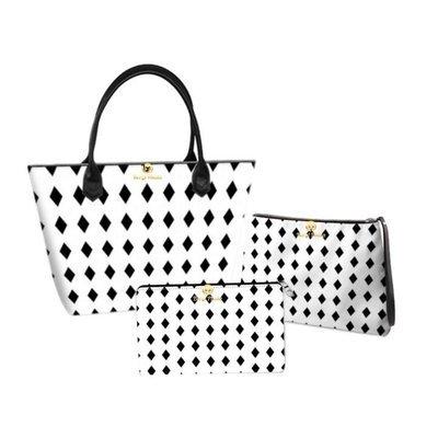 Black Diamonds Handbag set