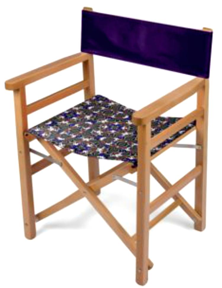 Folding Chair Ultra Violet Print Design