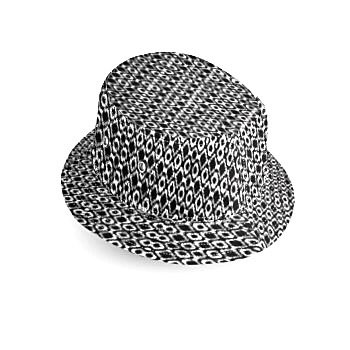 Black and White Bucket Hat