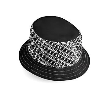 Black and White Bucket Hat1