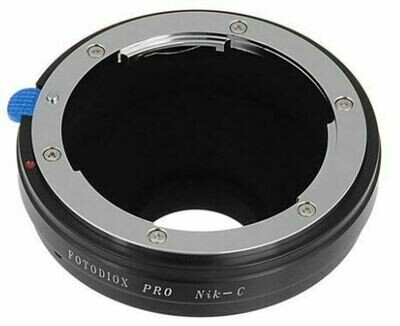 FotodioX Nikon F Lens Adapter to C-Mount