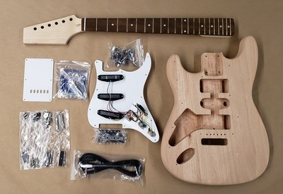 Economy Double Cut Kit  -  Left Hand model - Pre-Made Neck