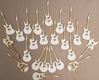 Mini Guitars 24 Pack