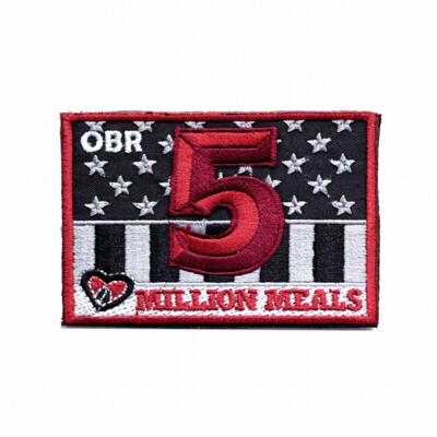5 Million Meals Patch