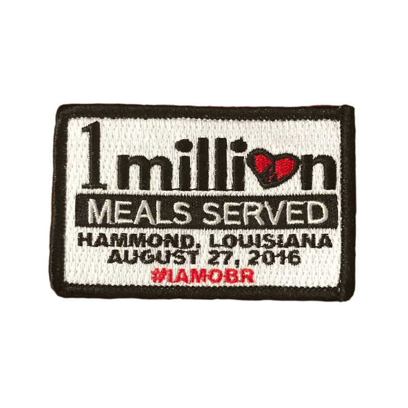 1 Million Meals Patch 51235