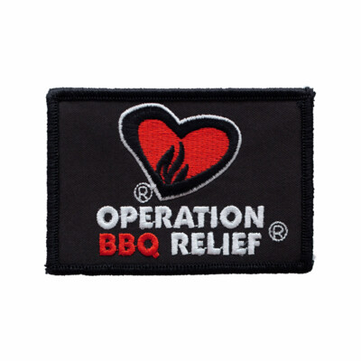 Operation BBQ Relief Patch - Black