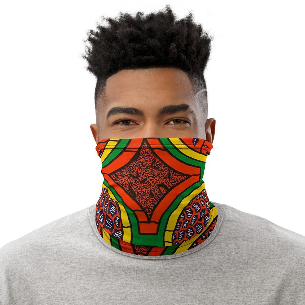 ISSA African Print Neck Gaiter