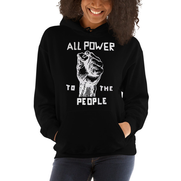 ISSA • Black Panther Party Hooded Sweatshirt