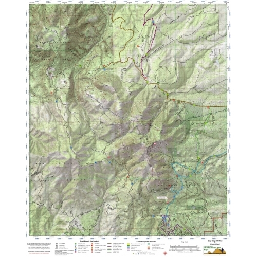 Mobile  Shay Ridge & Abajo MTN ATV Trails