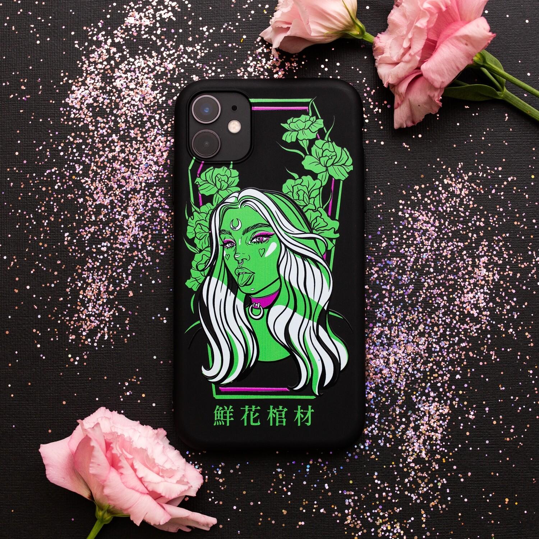 """Чехол для iPhone """"Mira"""" Зеленый"""