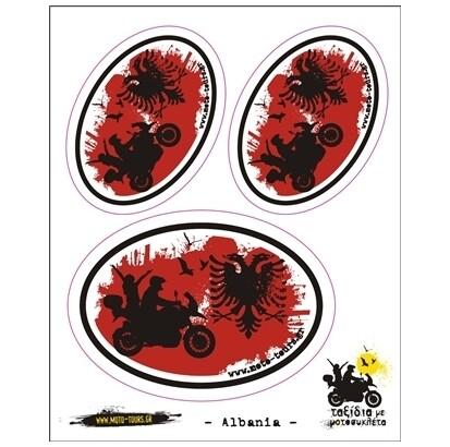 Σετ αυτοκόλλητα Αλβανία
