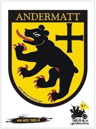Αυτοκόλλητο Andermatt (CH)