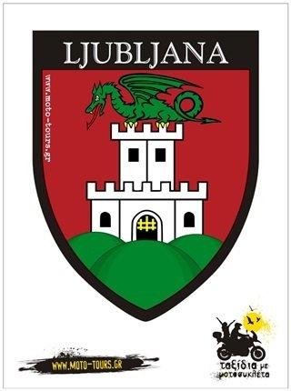 Αυτοκόλλητο Ljubljana (SLO)