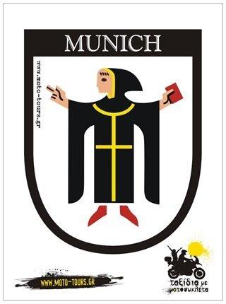 Αυτοκόλλητο Munich (D)