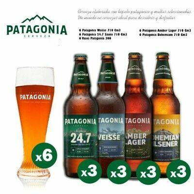 Familia Patagonia Vasos Curvo 300Cc