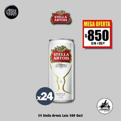 MEGA OFERTA - 24 Latas Stella 269Cm3- Opción Express