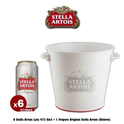 Frapera Stella Artois + 6 Latas 473Cm3