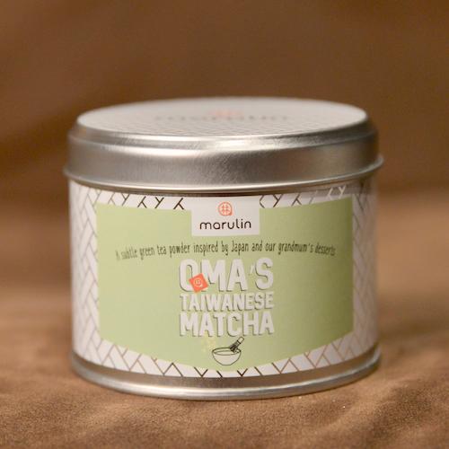 Marulin Oma's Taiwanese Matcha in Gift Tin - 50 servings