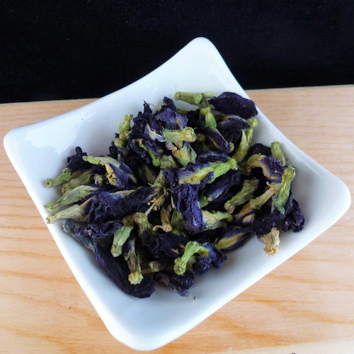 Blue Tea Flower:  Butterfly Pea Flower - Color changing / natural food color