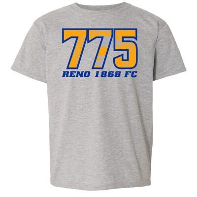 Youth Reno 1868 FC Area Code Tee
