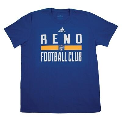 Reno 1868 FC Adidas Football Club Tee