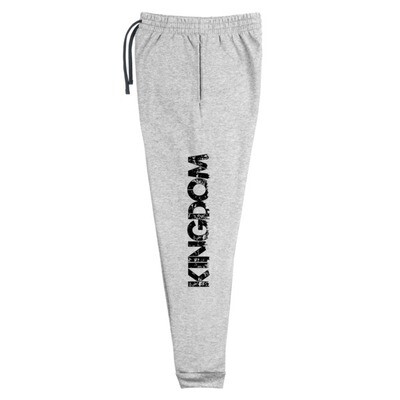 Kingdom Men Grey Joggers