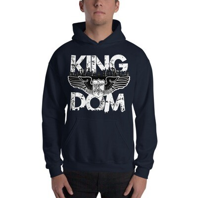 Kingdom Original Navy Hooded Sweatshirt