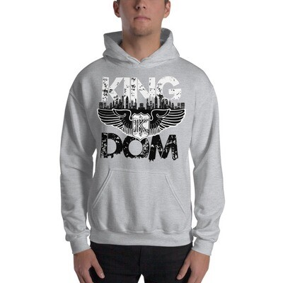 Kingdom Original Grey Hooded Sweatshirt