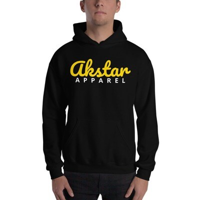AKSTAR SIGNATURE HOODED SWEATSHIRT (Black or Navy)