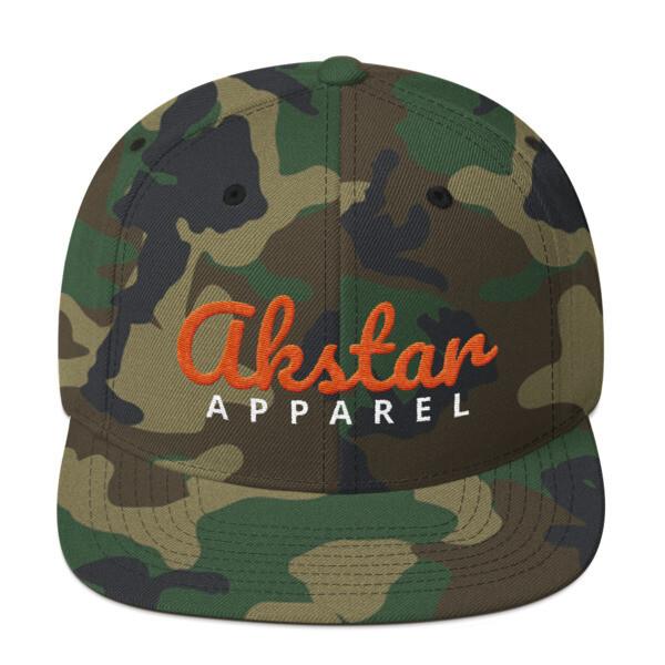 AkStar Signature Camo Rust Snapback