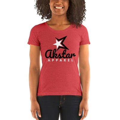 Ladies' Rising Star Red t-shirt