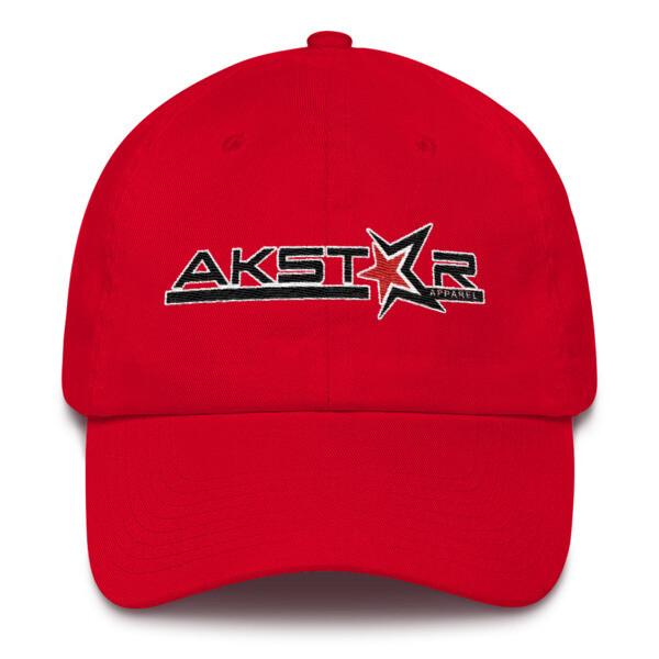 AKSA Ladies Red Cotton Cap