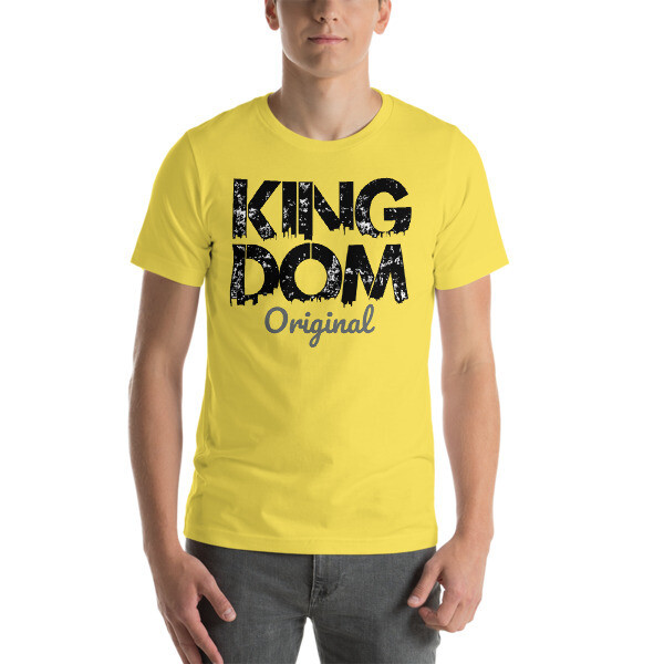 Kingdom Original Mens Yellow T-Shirt