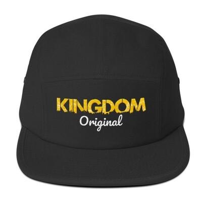 Kingdom Original Black Five Panel Cap