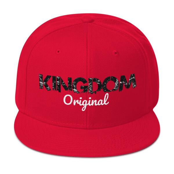 Kingdom Original Red Snapback
