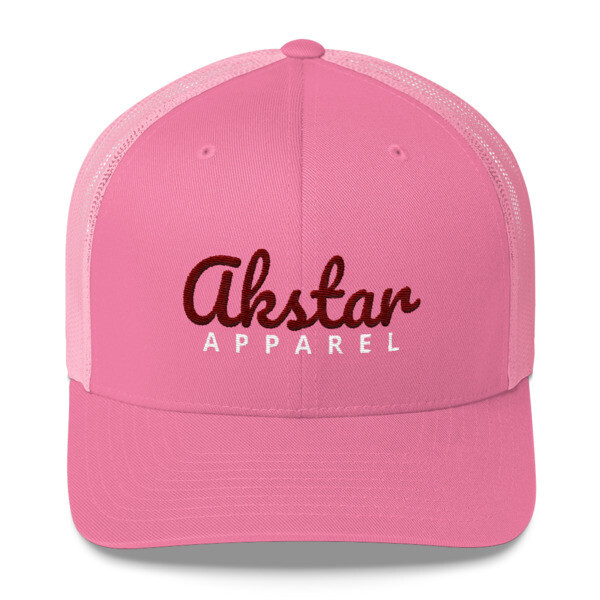AkStar Signature Ladies Pink Trucker
