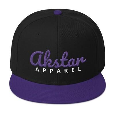 AkStar Signature Raven Tone Snapback