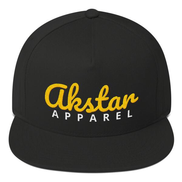AKStar Signature Black Snapback Cap