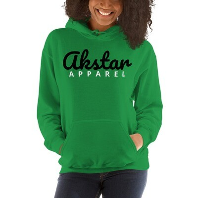 AKStar Signature Grn Hooded Sweatshirt L