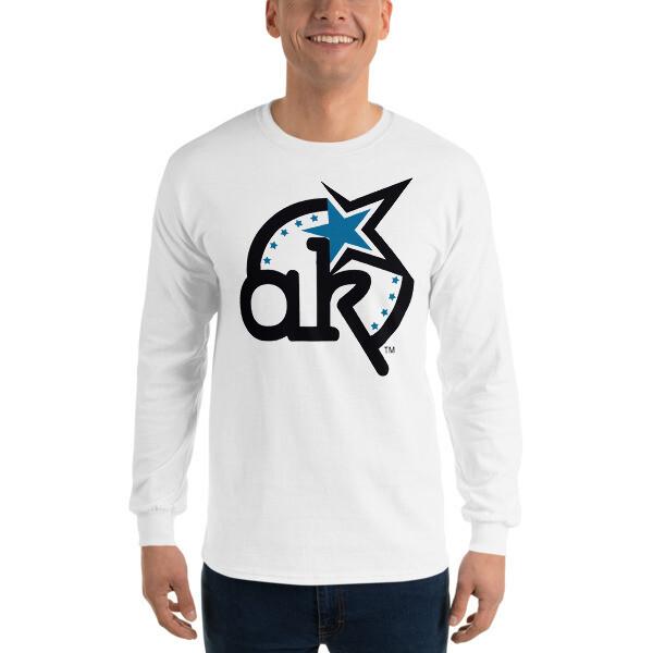 AKSA Logo Light Long Sleeve T-Shirt