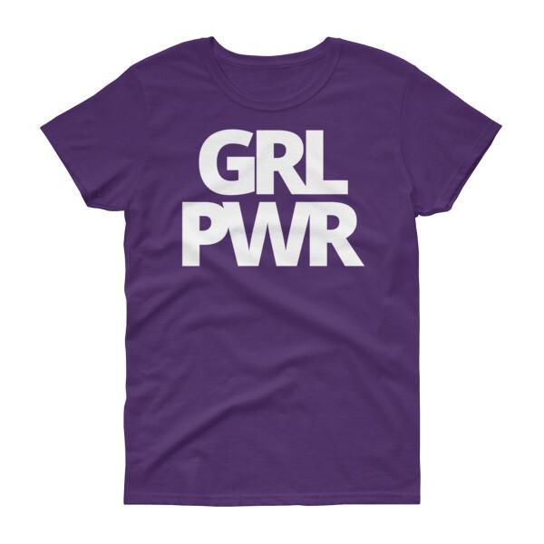 GIRL POWER Women's Dark t-shirt