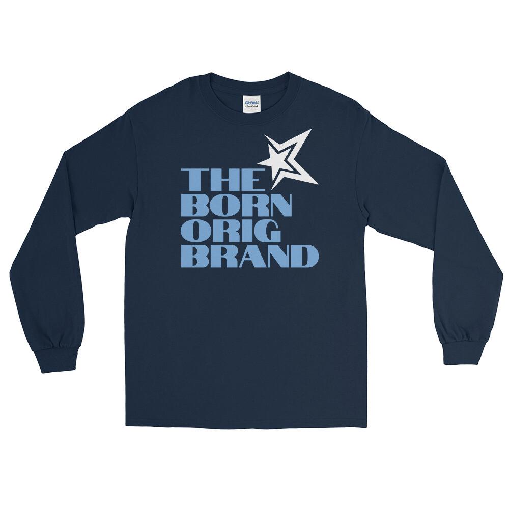 Born Original Brand Men's LS Shirt Navy