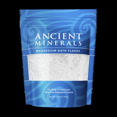 Ancient Minerals Magnesium Bath Flakes-1.65 lb / 750 g