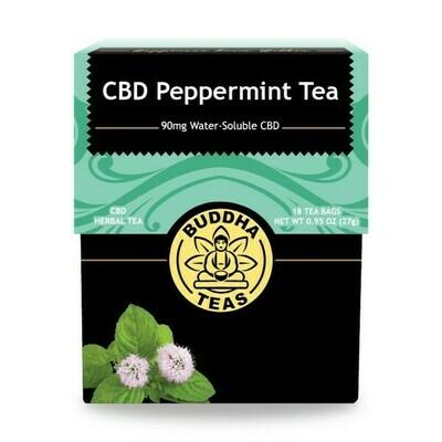 CBD Peppermint Tea - Buddha Teas