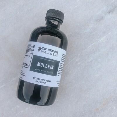 Organic Mullein Extract, 6 oz.