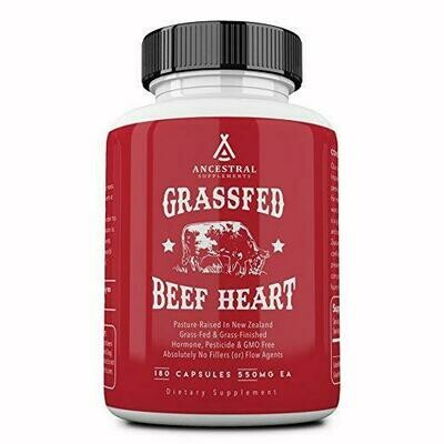 Grassfed Beef Heart - Ancestral Supplements